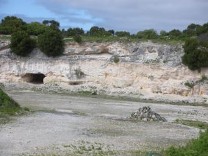 SA2468 Quarry, Teaching Cave and Rock Memorial