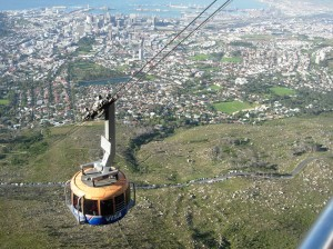 SA2659 Cable Car and Town