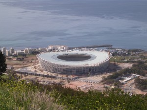 SA2811 Green Point Stadium from Signal Hill