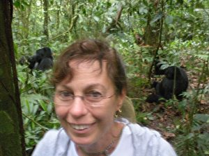 Uganda 114 Julie & Gorillas Best