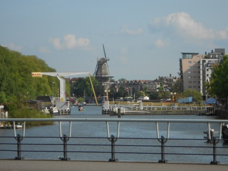 Amsterdam - windmills and bridges