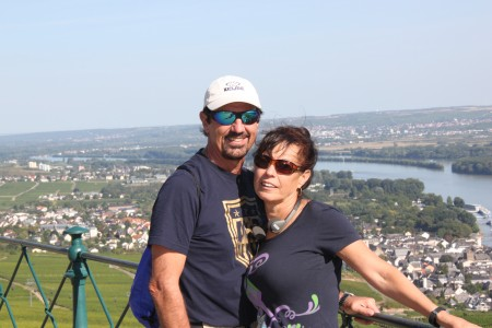 At Neiderwald Monument over looking the valley