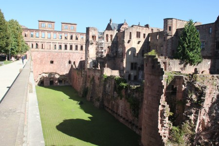 Walls of Heidelburg Castle